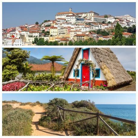 Centro de Portugal / Madeira / Algarve
