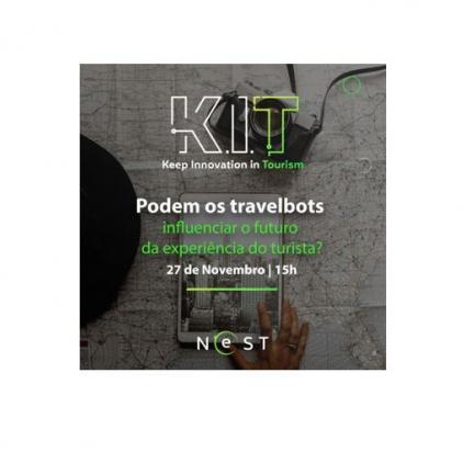 """Webinar """"Podem os travelbots influenciar o futuro da experiência do turista?"""""""